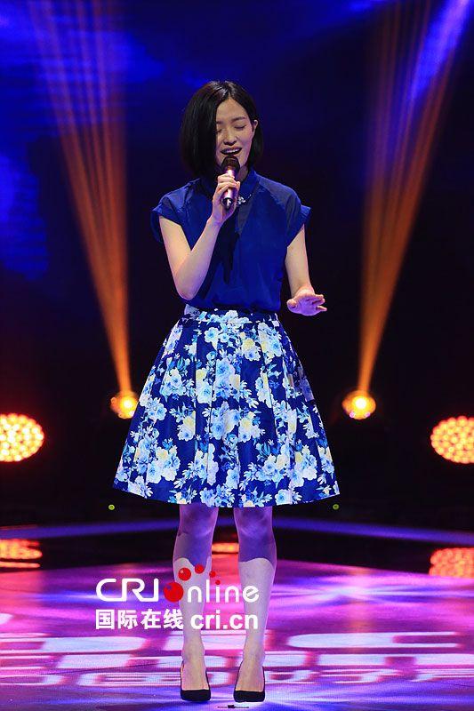 《中国好声音》第四季第三期 青花瓷小姐演绎