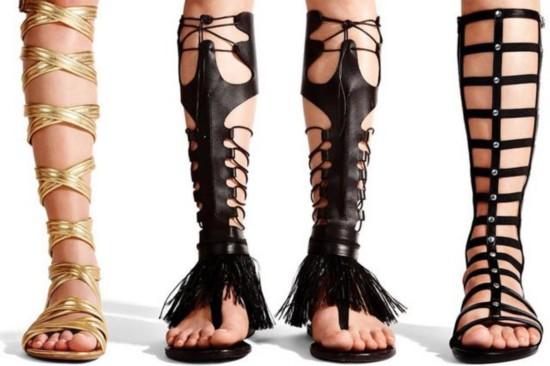 罗马鞋再次崛起 女星大爱引领今夏时尚潮流