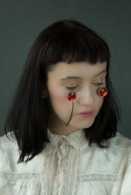 日本设计师试图开创脸部珠宝新潮流【2】