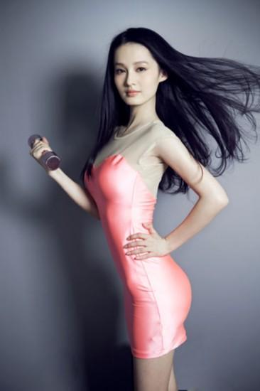 人体艺术mm学生人体艺术_李沁,是上海戏校的学生,学昆曲出身.