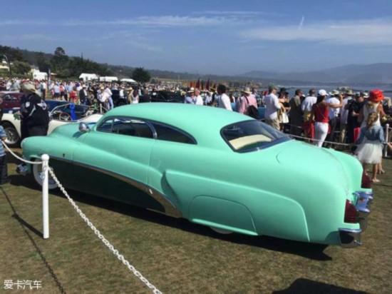 这款1953年上市的车隶属于菲亚特旗下,通过克莱斯勒生产.高清图片