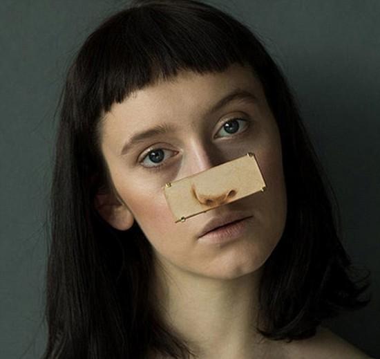 日本设计师试图开创脸部珠宝新潮流【4】