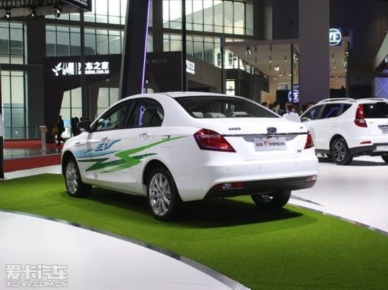 吉利帝豪电动车上海车展实拍-纯电是趋势 新上市 将上市新能源车点评高清图片