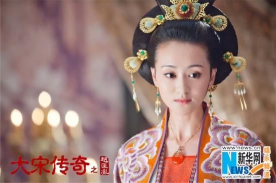 《大宋传奇之赵匡胤》以花喻人 女性角色大盘点