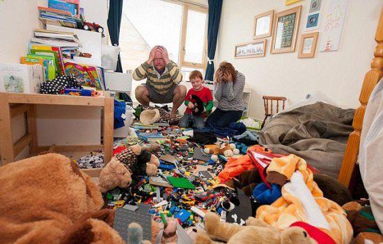 5岁男童卧室获英国最脏乱冠军1