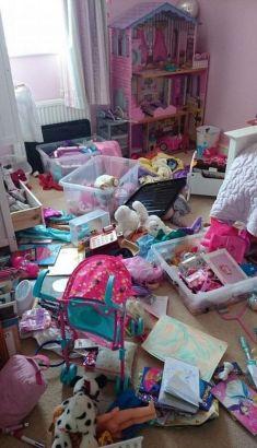 5岁男童卧室获英国最脏乱冠军5