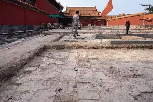 即将向观众开放的慈宁宫花园明清建筑基址考古现场 王争 摄