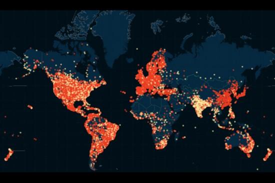 婚外情网站泄密资料被绘成出轨地图 会员遍布5万城市。(网页截图)