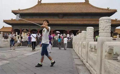 故宫如今每天都吸引众多海内外参观者 林慧 摄