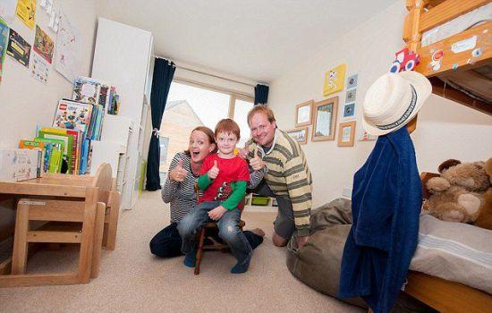 5岁男童卧室获英国最脏乱冠军2
