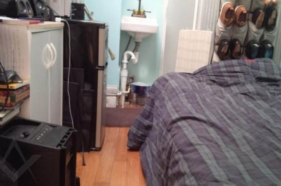 纽约9平米迷你公寓月租金7000元堪称天价