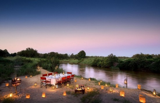 南非奢华露天树屋别墅酒店让人向往