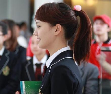 刘亦菲陈都灵唐嫣杨幂 盘点拯救中国校服的十大绝色女星(5)