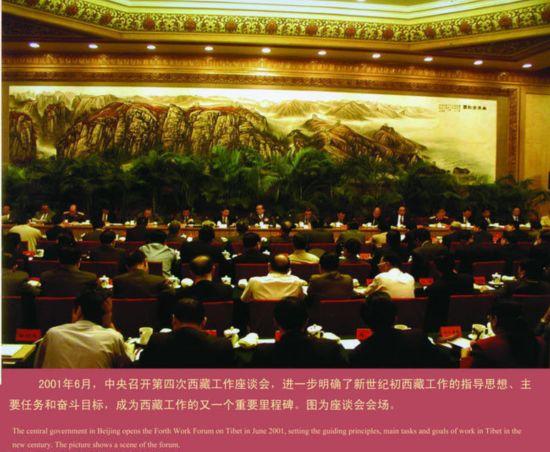 第四次西藏工作座谈会现场