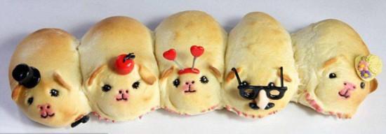 面包师烘焙奇趣外形面包走红网络【4】