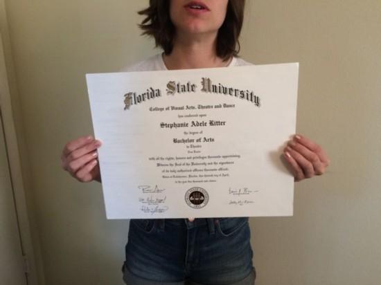 美国女子对工作失望 eBay上出售大学经历和毕