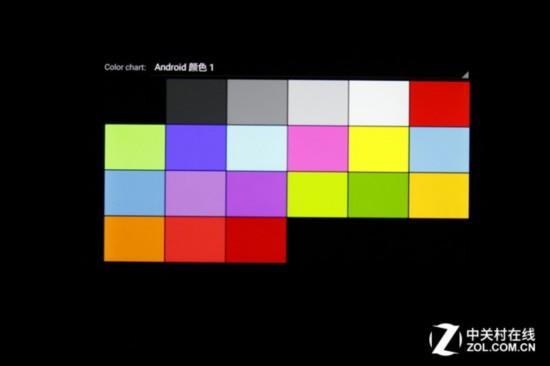 屏幕色彩表现测试