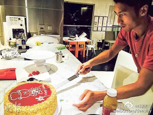 謝霆鋒慶35歲生日下廚做大餐未知是否邀兒子共聚
