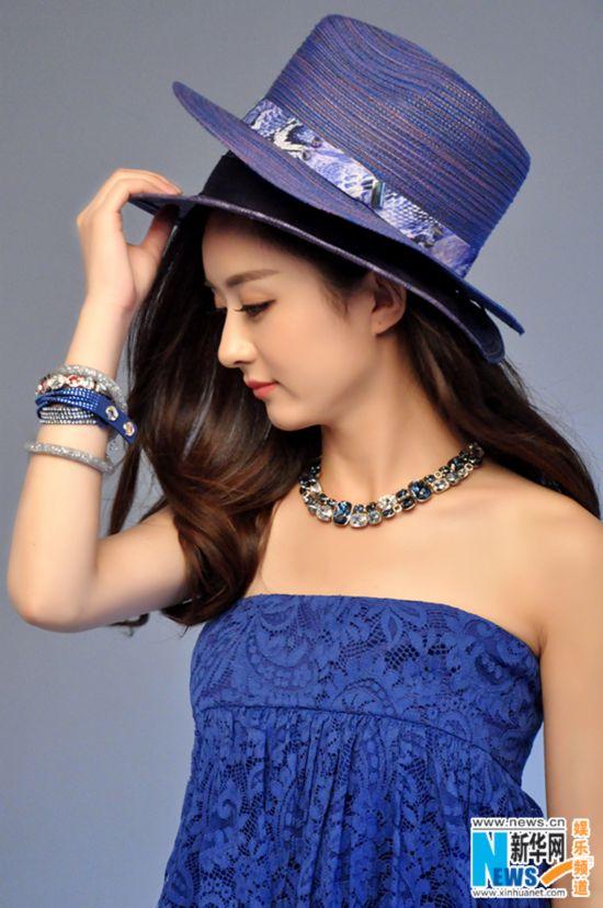 赵丽颖时尚封面驾驭多风格 海洋公主PK烈焰女王