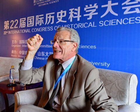 国际历史学会秘书长:中国作为东方主战场 为二战胜利做出巨大贡献
