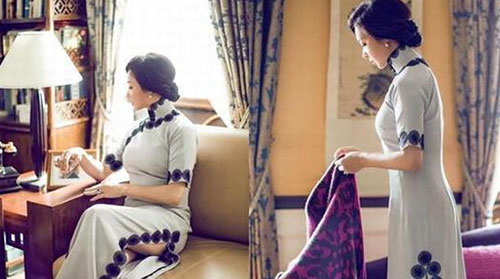 """金星坦言最爱穿中国旗袍 盘点民国戏中的""""旗袍美人"""""""