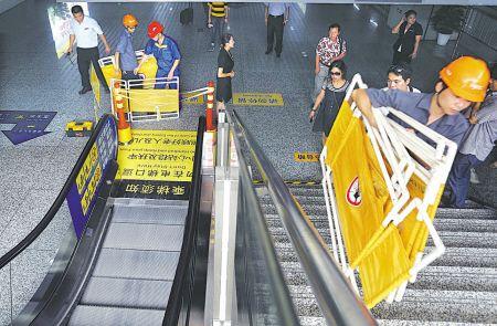 宁波:自动扶梯安全须重视