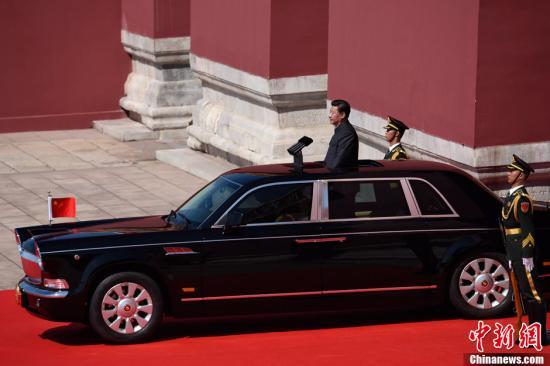 紅旗檢閱車揭秘:回顧中國閱兵車的變遷(組圖)