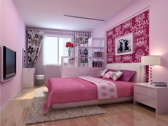太阳星城火星园-二居室-100.00平米-卧室装修效果图
