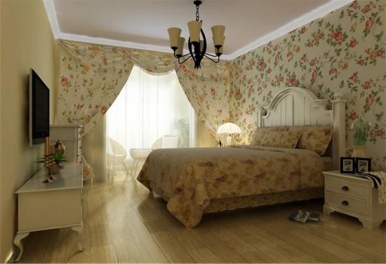 碧桂园温泉小区-三居室-108.00平米-装修设计