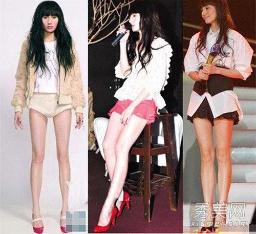 """袁泉突如其來的一次秀腿,卻震了所有的人。一次是為拍寫真,袁泉穿上了短褲秀出了""""九頭身"""",經常為台灣第一名模林志玲拍照的著名攝影師見了突然大發感慨,說""""袁泉的腿是我見過的最好看的一雙""""。不過一雙美腿卻不顯得袁泉性感,而是純美。"""