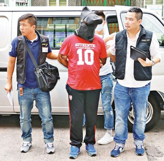 香港警方破劫掠红木团伙拘6名南亚裔男子