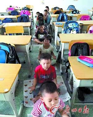 洞 让小学生以打坐代替午睡 教育部门叫停