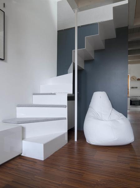 效果图 卧室 客厅 厨房 玄关 卫生间-45张梦幻阁楼楼梯装修效果图 步