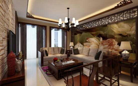 北京城建·世华龙樾-三居室-110.00平米-客厅装修效果图