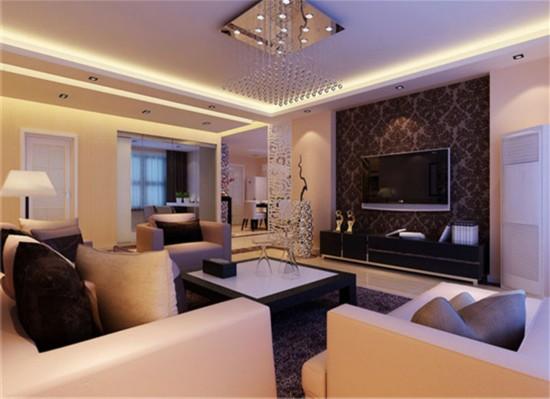 福海棠华苑-三居室-110.00平米-装修设计