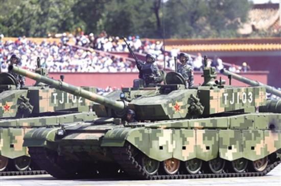 专家:我军99a主战坦克火力强大信息化能力出众