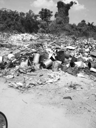 大量垃圾堆放空地上 回应:已向环卫部门反映