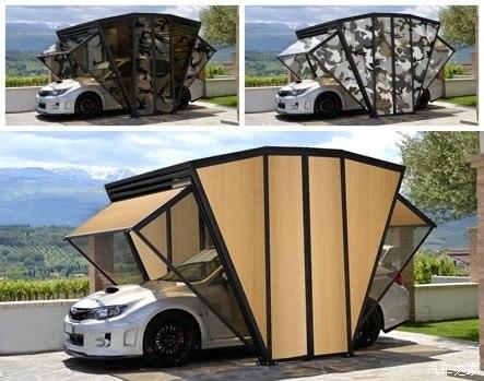 GazeBox折叠式车库能否在我国流行?