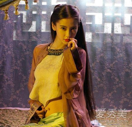 《云中歌》angelababy最美古装发型集锦 与杨蓉争奇斗艳谁赢了?(图)