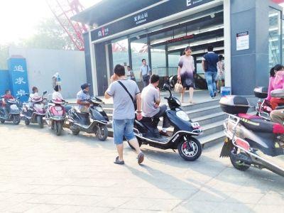 郑州超标电摩的将按机动车处罚 无证驾驶处2000元以下