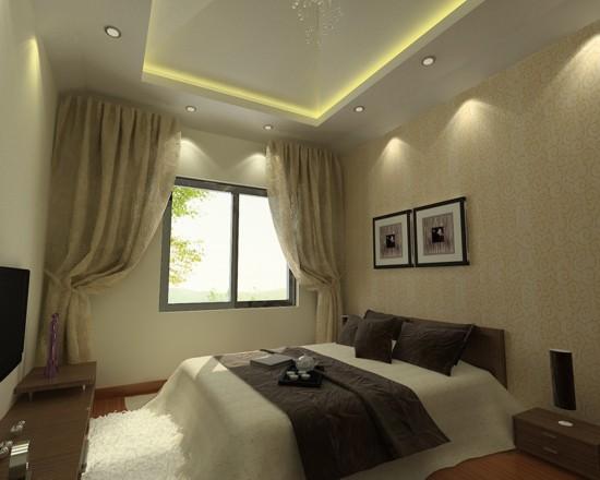 百旺杏林湾-三居室-110.00平米-装修设计
