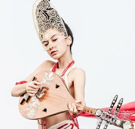 《云中歌》angelababy最美发型集锦古装与杨外翘齐肩直碎发图片