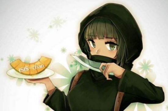 日本动漫少女用蜜瓜对抗is组织