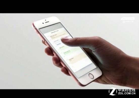 重压应用会弹出预览框   产品:iPhone 6S(全网通)苹果手机   31200万像素实质如何?    拍照   关键点:1200万像素+500万像素组合   终于,在坚持了4代800万像素之后,苹果iPhone6s的拍照升级到了1200万像素,这是继iPhone4s从之前的500万像素升级到800万像素之后的又一次像素提升,时隔4代之多,不得不叹服苹果的大胆。   不过如往常一样,此1200万像素当中的像素概念与之前的并不相同,因为单个像素点从之前的1.