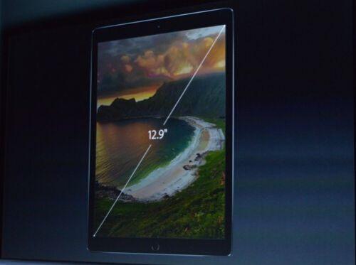 苹果发布iPad Pro 多任务分屏处理+苹果铅笔--