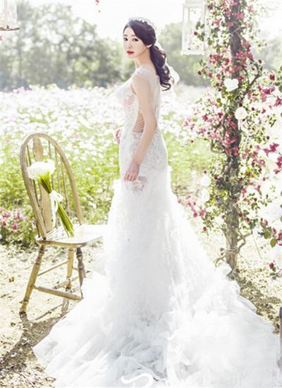 韩式婚纱照新娘造型图片推荐