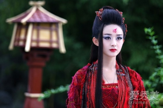 趙麗穎Angelababy 最新10大古裝女神