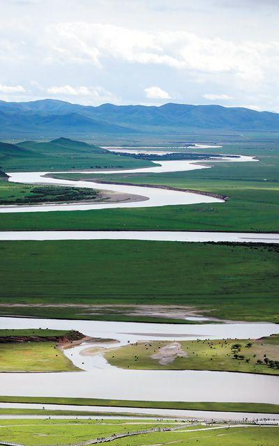 九曲黄河第一湾(美丽中国·寻找最美乡村·黄河边上①