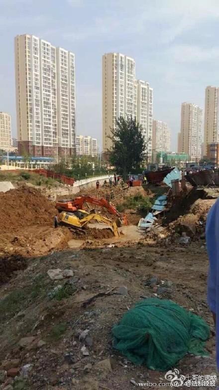 北京门头沟一工地塌方 一人被埋
