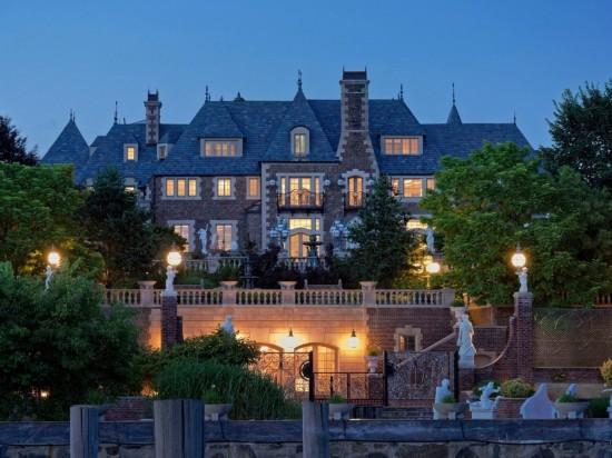 俄土豪1亿美金纽约长岛豪建城堡